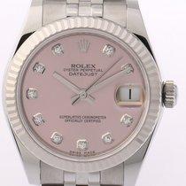 Rolex Datejust Medium Stahl/Weißgold Automatik Jubilé Armband...
