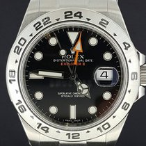 Rolex Explorer II Steel, Black Dial Full Set 42MM