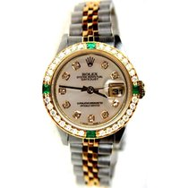 Rolex Datejust Lady's Model 79173 Steel and Gold Jubilee...