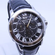 Raymond Weil Tango 4891 Stainless Steel Leather Strap