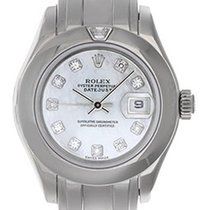 Rolex Ladies Rolex Masterpiece/Pearlmaster Watch 69329
