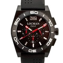 Locman Stealth 0212BKKA-CBKSIK Chronograph Quarz Men's Watch