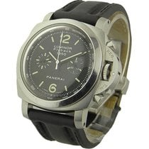 Panerai PAM00212 PAM 212 - 1950 Flyback Chronograph - Brushed...