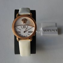 Versace Krios White and Rose Gold Plated