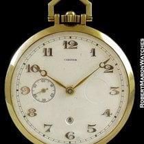 Cartier Pocket Watch 18k Keyless 8 Day Power Reserve