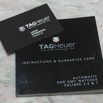 TAG Heuer vintage booklet warranty papers and card for caliber...