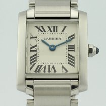 Cartier Tank Francaise Quartz Steel Lady 2384