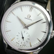 Omega Winding Side Second Steel Mens Watch 2605-12