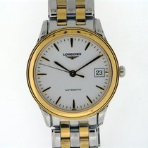 Longines Flagship White Dial Two Tone L47743227