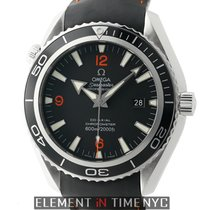 Omega Seamaster Planet Ocean 46mm Steel Black Bezel Caliber 2500