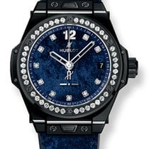 Hublot Big Bang One Click Italia Independent Dark Blue Velvet...