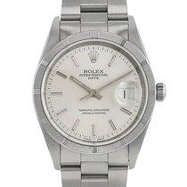 Rolex Oyster Perpetual Datejust en acier Ref : 15210 Vers 1998