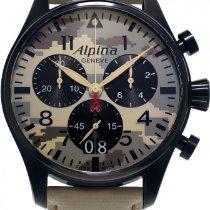"Alpina Geneve ""CAMOUFLAGE"" PILOT BIG DATE CHRONOGRAPH..."