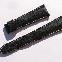 Zenith Shark Band Strap Black 22 Mm 73/114 New Nueva Z22-05