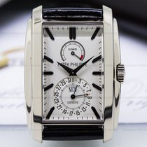 Patek Philippe 5200G-010 Gondolo 8 Day Manual Wind White Dial...