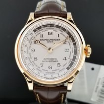 Baume & Mercier New  Capeland Worldtimer 18k Rose Gold...