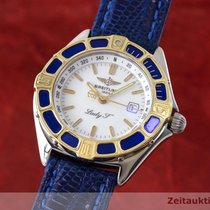 Breitling Lady J Class Stahl / Gold Damenuhr Top D52065