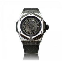 Hublot Big Bang Unico Automatic Titanium Black Dial Mens Watch...