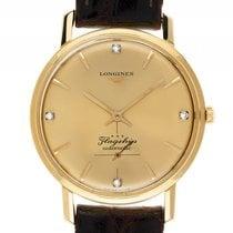 Longines Flagship 18kt Gelbgold Diamond Automatik Armband...