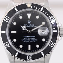 Rolex Submariner Date Tritium Taucher X-Serie 1991 Box Papiere