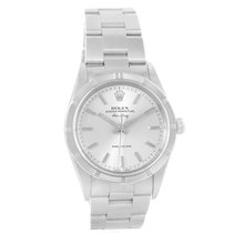 Rolex Air King Stainless Steel Silver Dial Mens Watch 14010...
