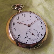 J. Calame Robert vintage silver watch with service report