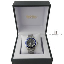 Paul Picot Puaul Marine Sub Professional 200 m black  and Blue