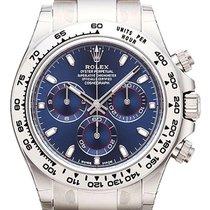 Rolex Cosmograph Daytona 18 kt Weißgold Ref. 116509 Blau