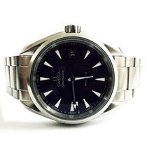 Omega Seamaster Aqua Terra Quartz 38.5mm BlackDial Men's