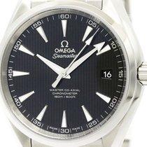 Omega Never Used Omega Seamaster Aqua Terra Steel Watch...