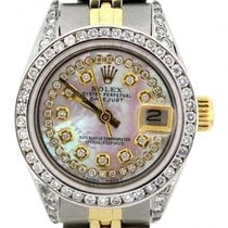 Rolex Datejust Women's 26mm Pink Mother Of Pearl Dial...