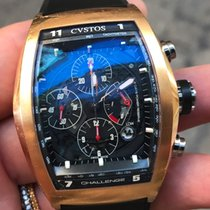 Cvstos 18k Rose Gold Oro Challenge Automatic Chrono Power Reserve