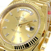 Rolex Day-date 228238 Presidential 40 Mm Yellow Gold Champagne...