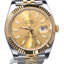 Rolex Oyster Datejust II Jubilee Gold Steel 41 mm (Full Set 2017)