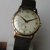 Festina Jumbo Vintage Manual 18k Pink Gold 37mm Cal. FHF 175 ...