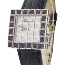 Chopard 13/6858-8-23 Ice Cube Full Pave with Sapphires and...