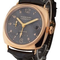 Panerai PAM00497 PAM 497 - Radiomir 10 Days GMT - Rose Gold on...