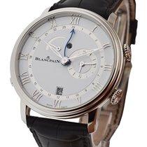 Blancpain 6640-1127-55b Villeret Reveil GMT Automatic in Steel...
