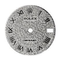 Rolex DateJust 31mm Steel Diamond Pavé Custom Dial