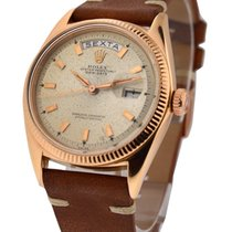 Rolex Used 1803_rose_gold Vintage Rose Gold President from the...