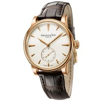 Arnold & Son HMS1 Rose Gold Cream Dial