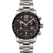 Mido Men's M0256271106100 Multifort Chronograph Watch