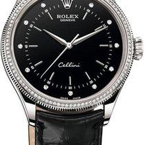 Rolex Cellini 39 mm White Gold 50609RBR
