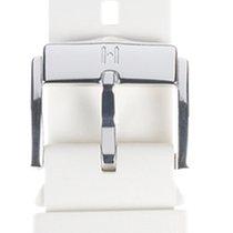 Hirsch Uhrenarmband Kautschuk Pure M weiss 40418800-2-18 18mm
