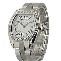 Cartier WE5002X2 Ladys Roadster - Diamond Set Bezel and Crown...