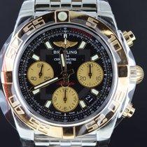 Μπρέιτλιγνκ  (Breitling) Chronomat 41MM Gold/Steel Black Dial,...