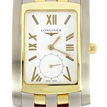 Longines DolceVita Stainless Steel and Yellow Gold Plated...