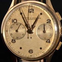 Baume & Mercier - Vintage 18K Solid Gold Chronograph...
