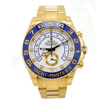 Rolex YACHT-MASTER II 44mm 18K Yellow Gold Blue Hands