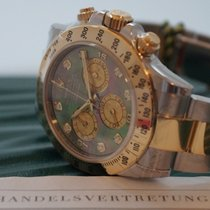 Rolex Cosmograph Daytona / Perlmutt & Diamanten